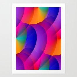 pattern and color -01- Kunstdrucke