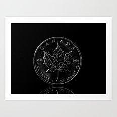 Silver Dollar Art Print