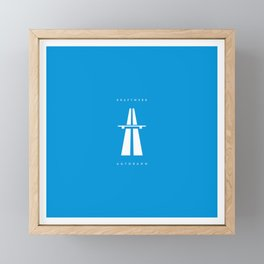 Kraftwerk Autobahn Framed Mini Art Print