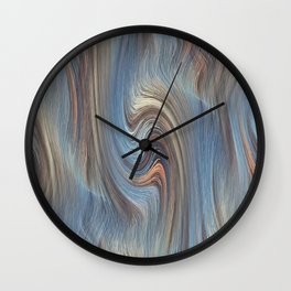 Jupiter Wind Wall Clock