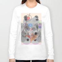 botanical Long Sleeve T-shirts featuring Botanical Garden by Kay Weber