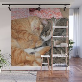 Nap Buddies Wall Mural