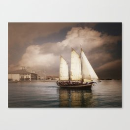 They've All Come To Look For America Canvas Print