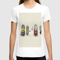 minion T-shirts featuring Minion Avengers by CforCel