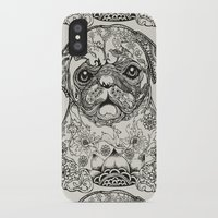 persian iPhone & iPod Cases featuring Persian Pug by Huebucket