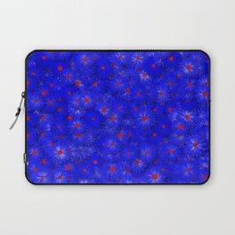 blue daisy flowers Laptop Sleeve