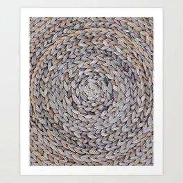 """""""Woven Earth"""" Art Print"""