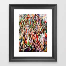 Jumble Framed Art Print