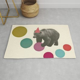 Birthday Bear Rug