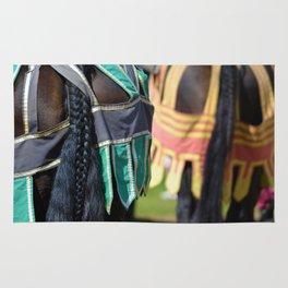 Jousting Horse - Braided Rug