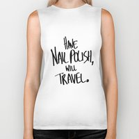 nail polish Biker Tanks featuring By the Power of Polish by Selling Coriander