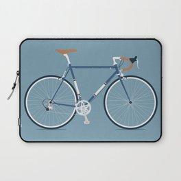 My Bike Dark Blue Laptop Sleeve