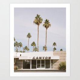 Canyon, Palm Springs Art Print