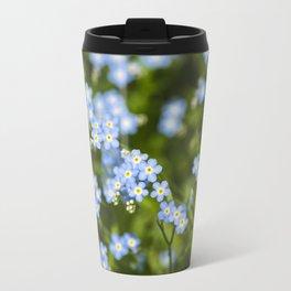 Abstract Wildflowers Travel Mug