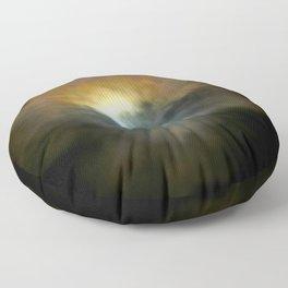 Solar Eclipse II Floor Pillow