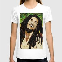 marley T-shirts featuring Marley Collage by Emily Harris