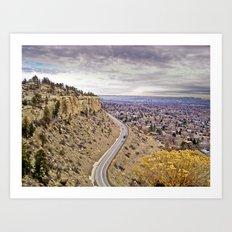 Zimmerman Trail Art Print
