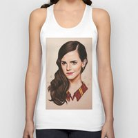 gryffindor Tank Tops featuring Queen of Gryffindor by The Art Of Dreams