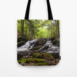 split waterfall Tote Bag