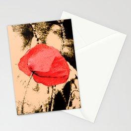 Art Poppy Stationery Cards