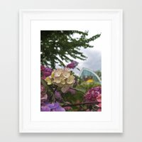 seattle Framed Art Prints featuring Seattle by JAMI M. GULER