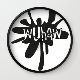 Wuhaw...Wake up, have a wank. Wall Clock