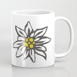 Edelweiss flower Coffee Mug