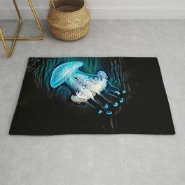 Glowspill Jellyfish Rug