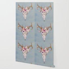 Deer Skull 2 Wallpaper