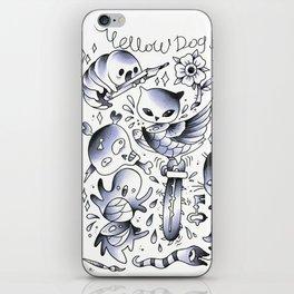 rave2 iPhone Skin