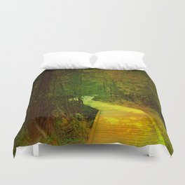A Crooked Path Duvet Cover