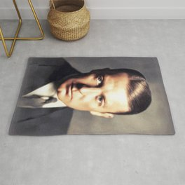 Clive Brook, Vintage Actor Rug