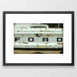 Old Ford Truck - Nice Ass-et Framed Art Print