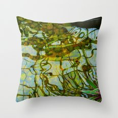 Reflected vision Throw Pillow