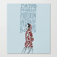 stiles Canvas Prints featuring Stiles Stilinski by 23242322