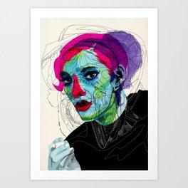 girl 02 Art Print