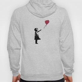 Girl With Red Balloon, Banksy, Streetart Street Art, Grafitti, Artwork, Design For Men, Women, Kids Hoody
