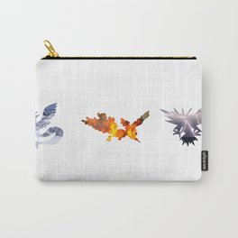 The 3 Legendary Birds Carry-All Pouch