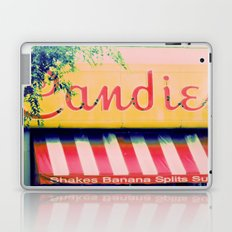 Margie's Candies ~ vintage ice cream parlor sign Laptop & iPad Skin
