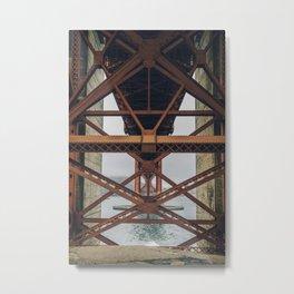 Golden Gate Backbone, San Francisco Metal Print