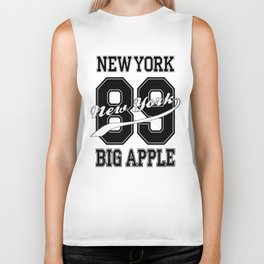 Big Apple 89 New York Biker Tank