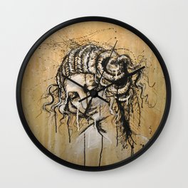 Leda - by Jay Turner Wall Clock