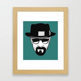 Heisenberg Print Framed Art Print
