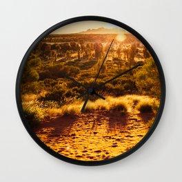 Australia | Northern Territory | Photography Wall Clock