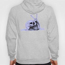 This Skull Is My Home (Snail & Skull) - Pastel Purple & Black Hoody