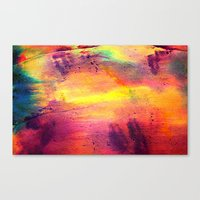 tie dye Canvas Prints featuring Tie Dye by Sarah Maybin