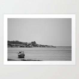 Summertime Sea Art Print