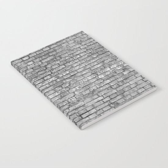 Vintage Brick Wall Notebook