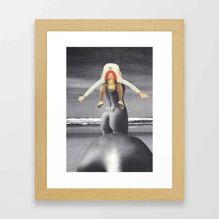 """The Generation Gap"" Framed Art Print"
