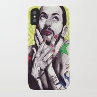 marc johns iPhone & iPod Cases featuring Marc Jacobs by Joseph Walrave